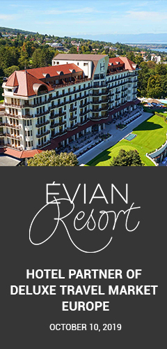 Deluxe Travel Market, Evian Resort